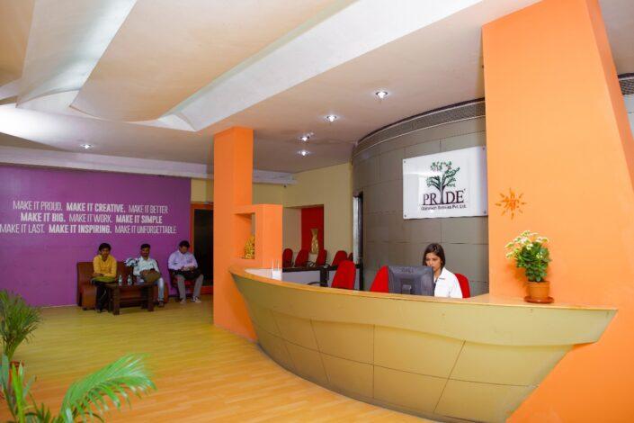 Pride Globaltech Services Pvt. Ltd. Office